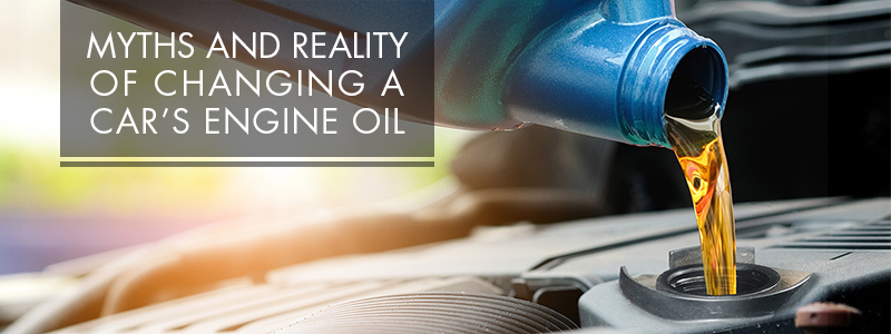 Myths and Reality of Changing a Car's Engine Oil
